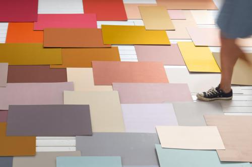 färglappar golv